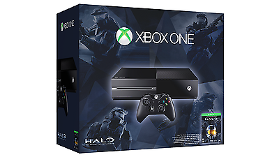 Xbox One Halo: The Master Chief Collection Bundle 500GB Black Console & Games