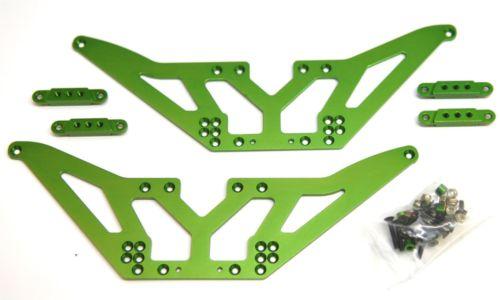 STA30502LG Chassis Lift Kit + Shock Mounts SCX10 (4)