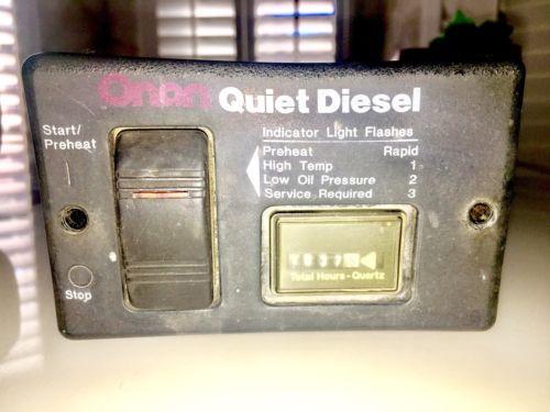 Onan Diesel Generator - For Sale Classifieds