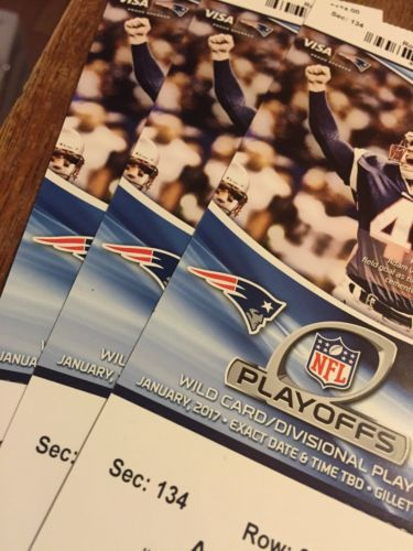 New England Patriots AFC Divisional Round Lower Level Sideline Seats