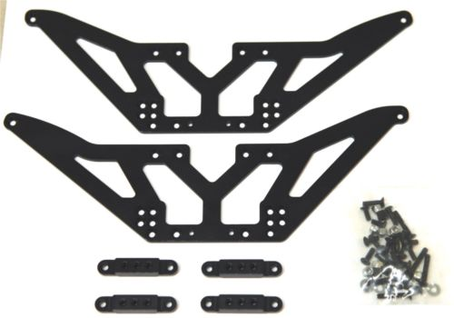 STA30502LBK Chassis Lift Kit + Shock Mounts SCX10 (4)