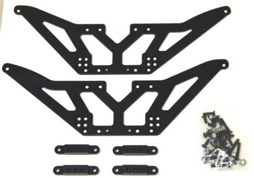 STA30502LBK Chassis Lift Kit + Shock Mounts SCX10 (4)