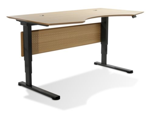 Prestige Sit-Stand Collection Electric Height Adjustable Standing Desks by Uniqu