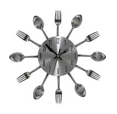 Kitchen Cutlery Wall Clock [ID 2661450]