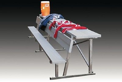 15' Bench with Equipment Shelf