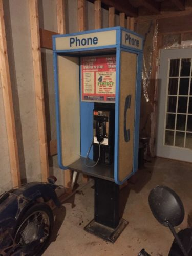 Vintage Payphone Booth