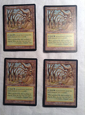 4 Gaea's Cradle Urza's Saga NM/SP Magic The Gathering Cards