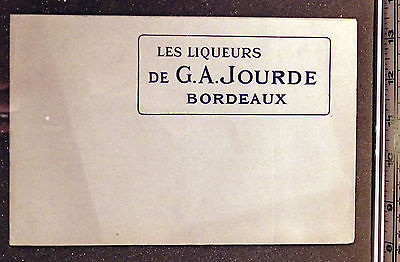 c1900. French Confectioners Collection. G.A. Jourde. Bordeaux. Rare.