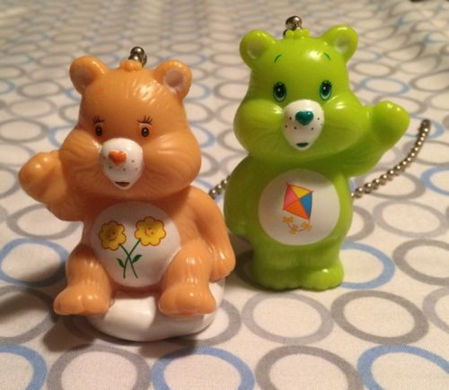 Rare Care Bears  Fan Pull Set