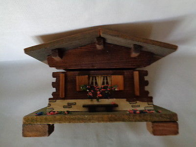 Collectible Vintage REUGE Music Box House / Chalet Swiss Musical Movement