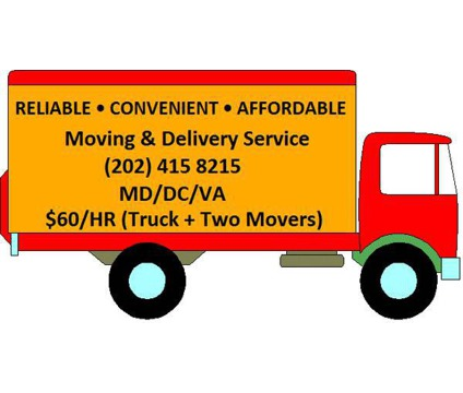 Discount Movers Low Moving Rates 2men & Truck $60/HR