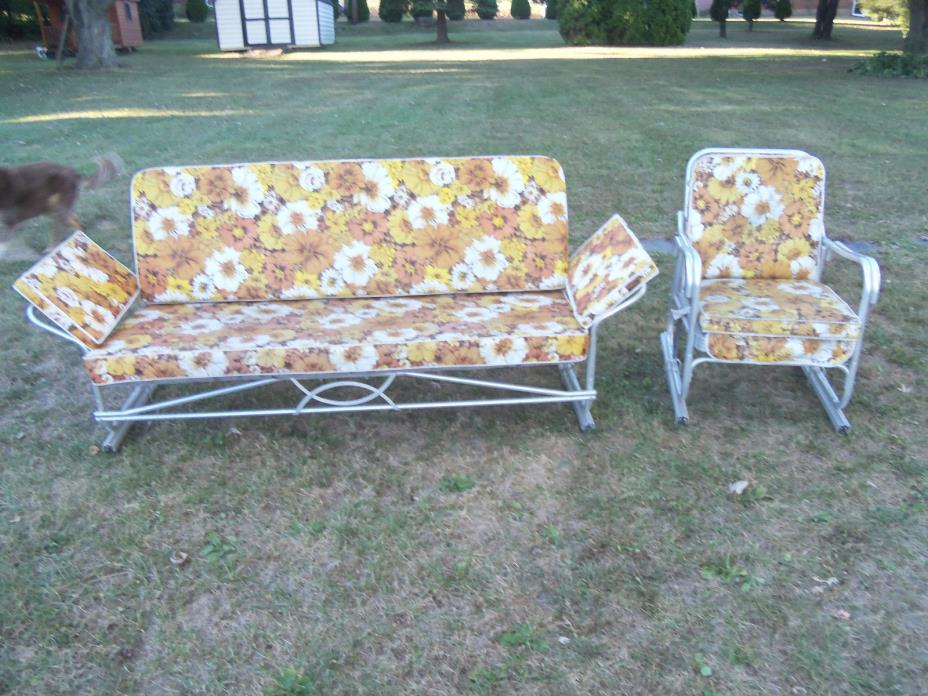 Vintage Patio Glider Vintage Metal Porch Glider For Sale Classifieds