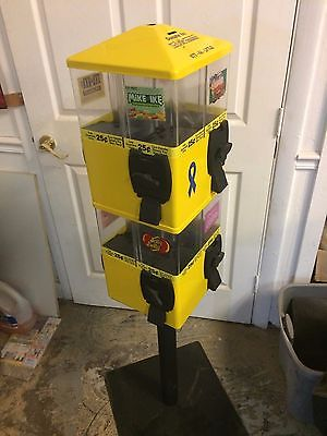 1 U TURN 8 HEAD TERMINATOR CANDY VENDING MACHINE