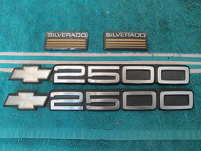 Chevy Silverado 2500 Emblems Silverado Badges Pickup Truck Emblem