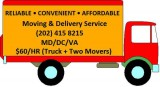 Discount Movers Low Moving Rates men and Truck HR