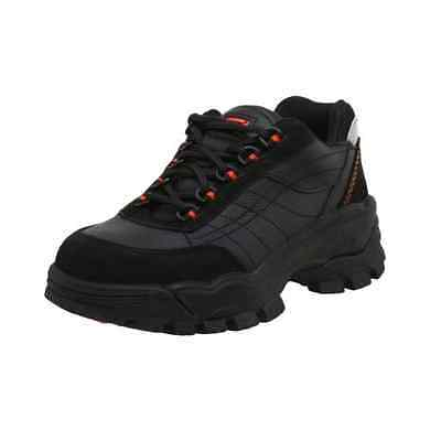 12 M Women's Worx by Red Wing Shoes Steel Toe 5505 Work Athletic Safety Black