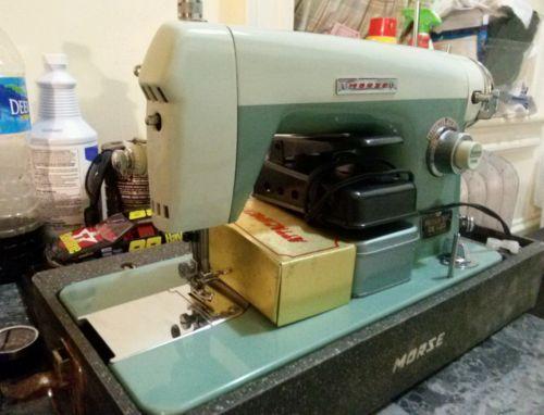 Morse Sewing Machine precision built deluxe