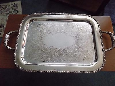 Silverplate Tray Berwick Wm Rogers