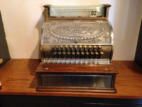 Cash Register - Antique - National