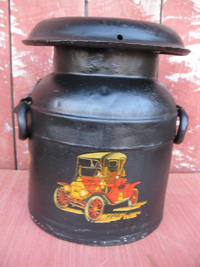Antique Vintage Dairy Milk Can Rarer Smaller Milk Can