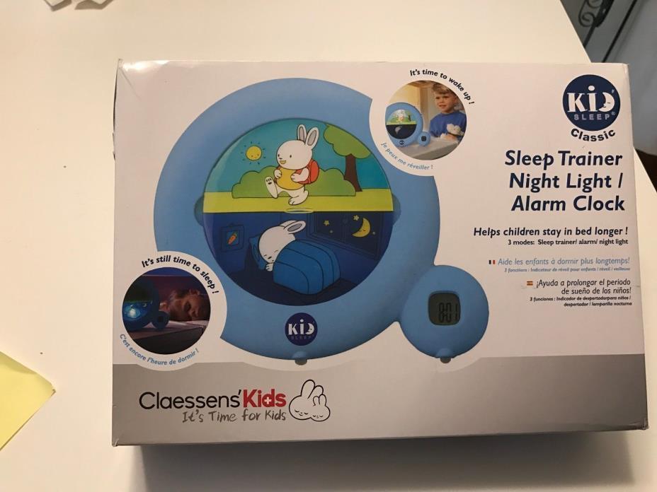 CLAESSENS KIDS SLEEP TIMER TRAINER NIGHT LIGHT/ALARM CLOCK