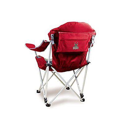 Milwaukee Bucks Reclining Chair - Folding Tailgate Camping Beach Chair