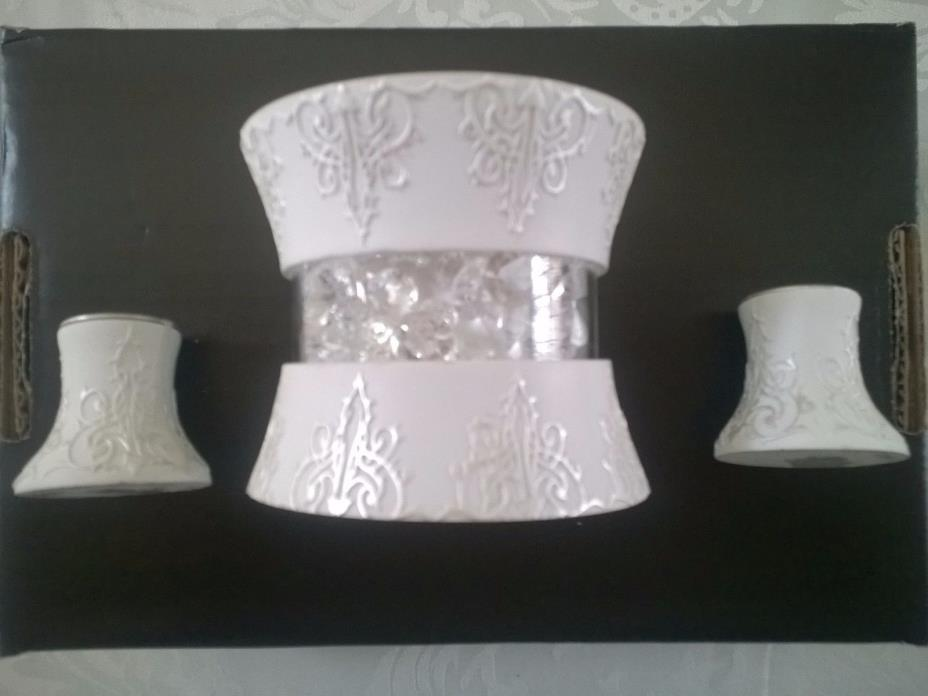 Wedding Unity Candle Holder Set By Lillian Rose
