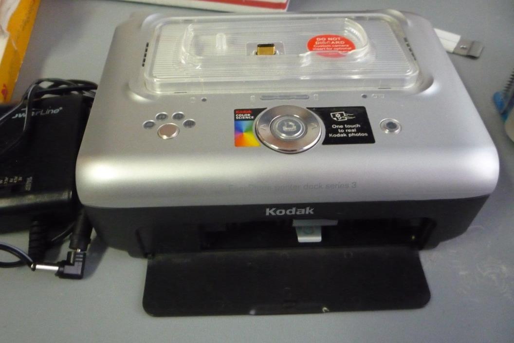 kodak easyshare printer dock series 3 manual