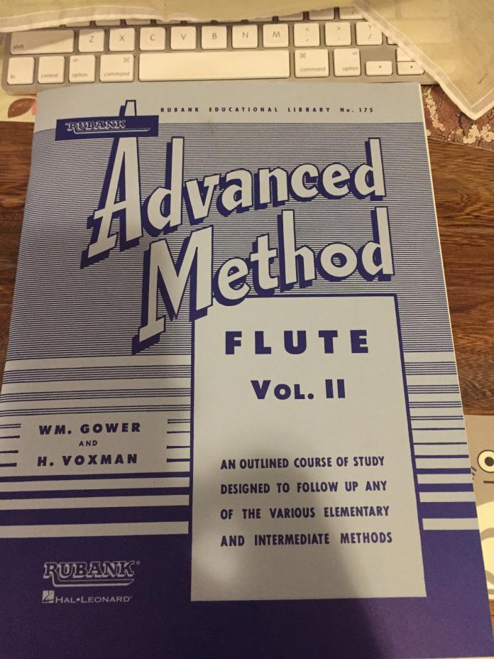 Rubank Advanced Method Flute Vol II