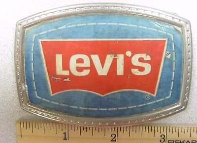 Scarce Vintage Levi's Jeans Belt Buckle - Metal