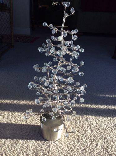 Metal / Glass Christmas Tree