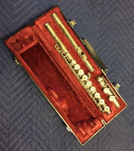 Yamaha Silver Flute YFL 385