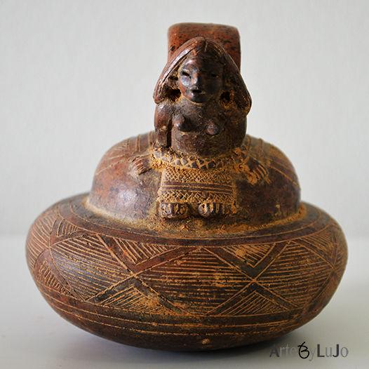 Pre-Columbian ceramics Colombia Alcarraza zoomorphic