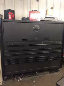Matco 5s toolbox with hutch, power drawer, like new