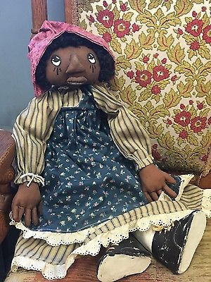 BEAUTIFUL HANDMADE RAG DOLL