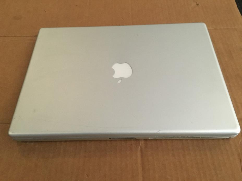 Apple PowerBook G4 Aluminum 15