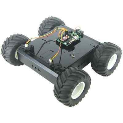 Lynxmotion A4WD1 Autonomous Rover Kit - BotBoarduino