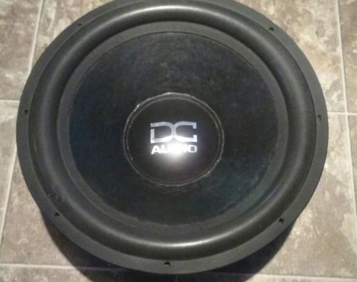 Dc Audio Subs For Sale Classifieds