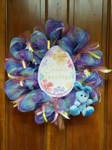 Easter Wreath Deco Mesh - READY TO SHIP