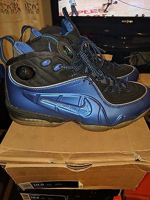 NIKE AIR 1/2 HALF CENT PENNY VARSITY ROYAL BLUE FOAMPOSITE Sz 10.5 Pre- Owned