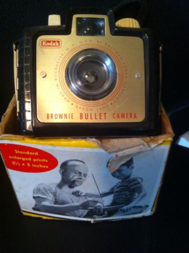 Vintage Kodak Brownie Bullet Camera.
