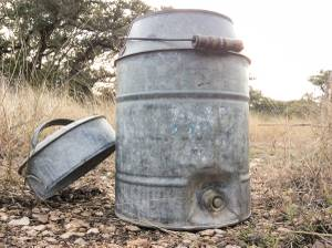 Vintage Water Cooler (San Antonio)