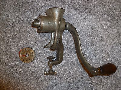 Antique meat grinder