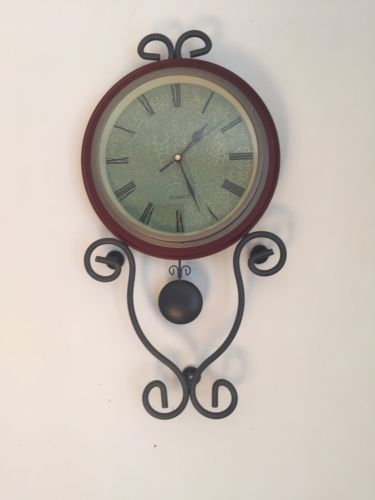 Quartz Pendulum Wall Clock