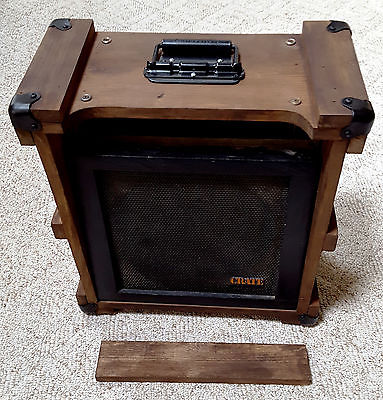 Vintage Crate Guitar Combo Amp Cabinet 12