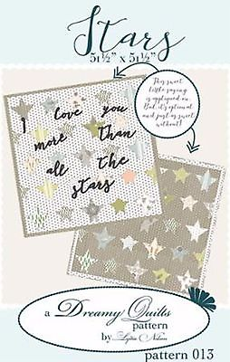 Stars Quilt Pattern by Dreamy Quilts #013 New Moda Designer, Baby Qlt Pattern