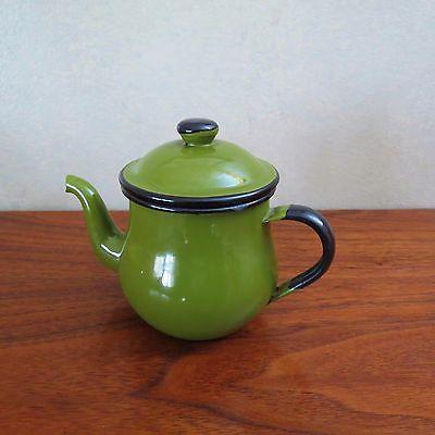 Japan Avocado Enamel Teapot