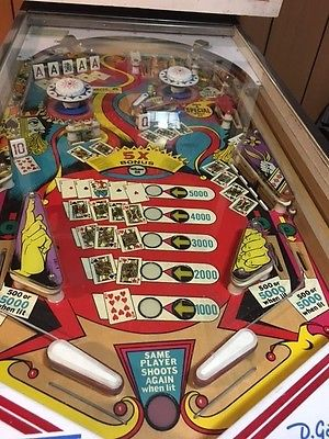 1970 Pinball Machine For Sale Classifieds