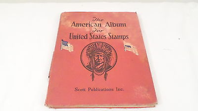 1943 Scott Publ American Album for United States Postage Stamps HC Stamp Book