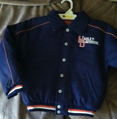 Harley Davidson Kids Coat Reversible New with Tags